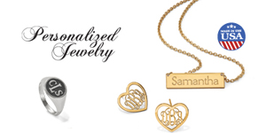 At Selman's we can order all of your monogram jewelry needs.  Our selection covers all monogram needs from traditional monogram necklaces, bracelets, and earrings to cuff links and money clips.  We also offer hand engraved monogram jewelry. Please give us a call and we will help you find the perfect monogram!