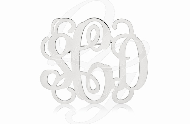 Monogram Jewelry - xna504w.jpg - brand name designer jewelry in McComb, Mississippi