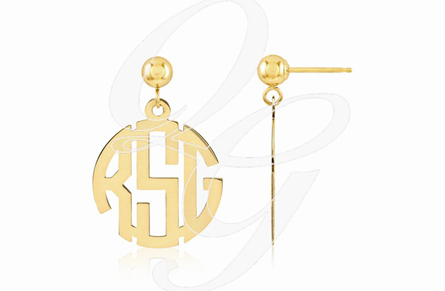 Monogram Jewelry - xne21gp.jpg - brand name designer jewelry in McComb, Mississippi