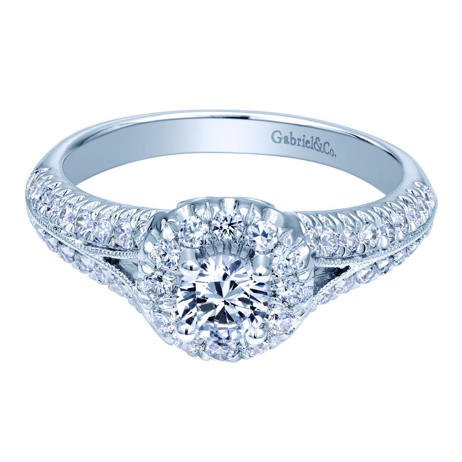 Diamond Engagement Ring by Gabriel & Co