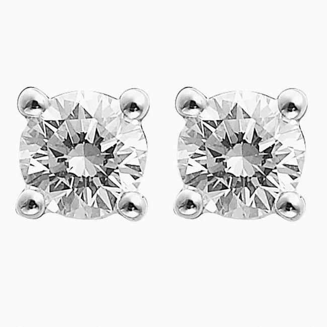 Diamond Stud Earrings 001 155 00080 From Selman S Jewelers Gemologist Mccomb Ms
