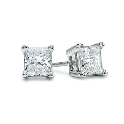 Diamond Stud Earrings by Camelot
